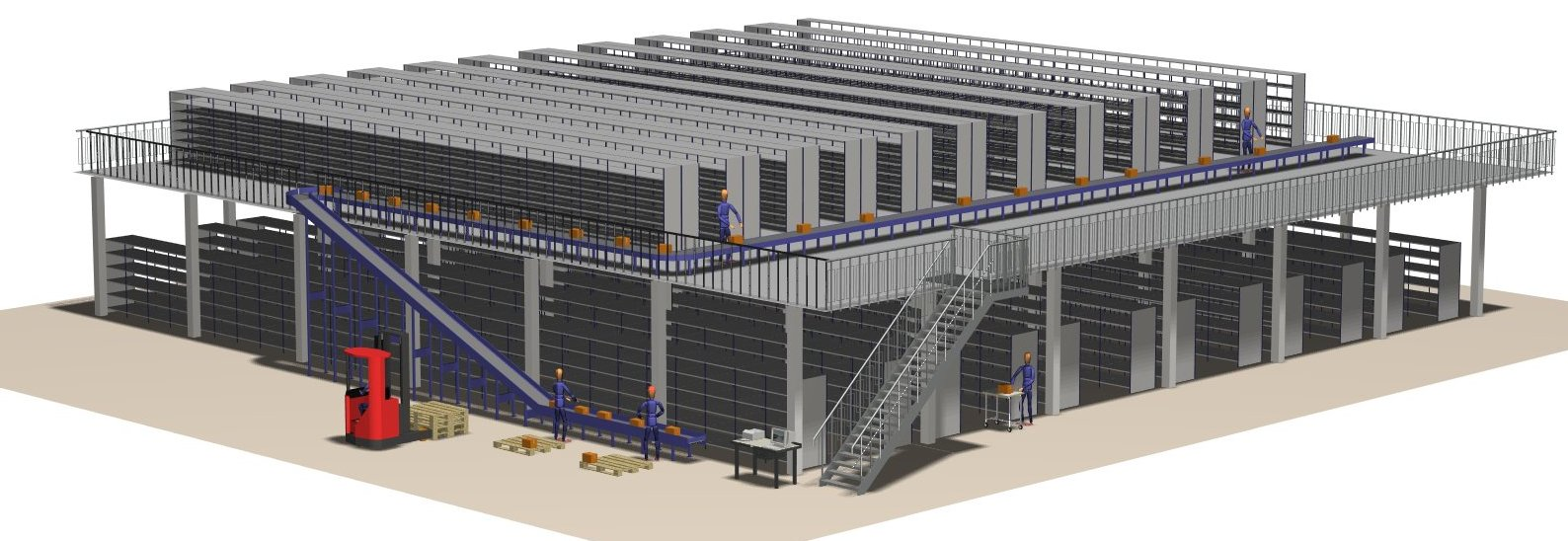 Layout design services for warehouse facilities equipment for Warehouse plans designs