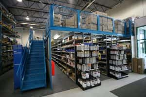 Warehouse Mezzanines: Efficiency & Safety