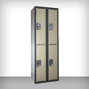Storage cabinets and lockers for the workplace