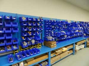 Warehouse Bins and Containers for Staying Organized