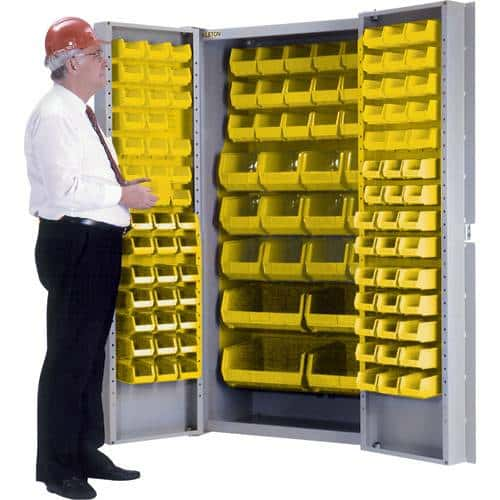 Hi Density Security Bin Cabinet