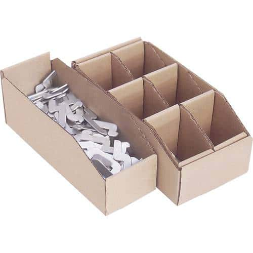 Corrugated Parts Bins