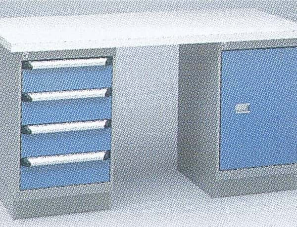 Workbench with Two Cabinets Option A
