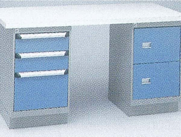Workbench with Two Cabinets Option B