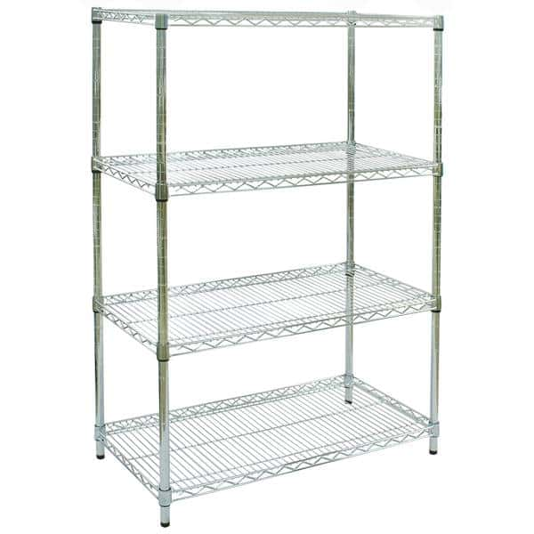 Chrome Wire Shelving - Commander Warehouse