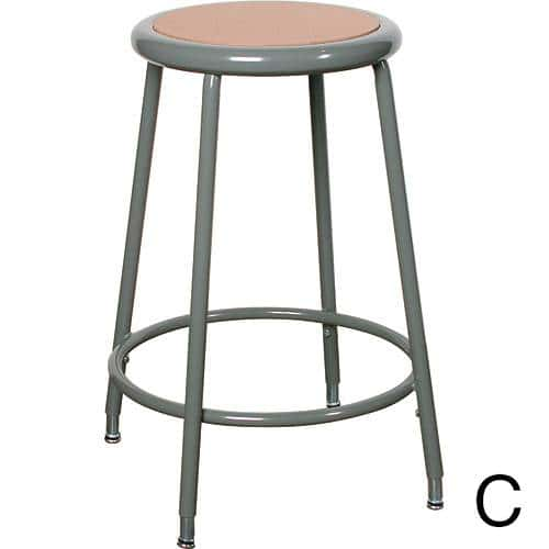 Stationary and Adjustable Stools