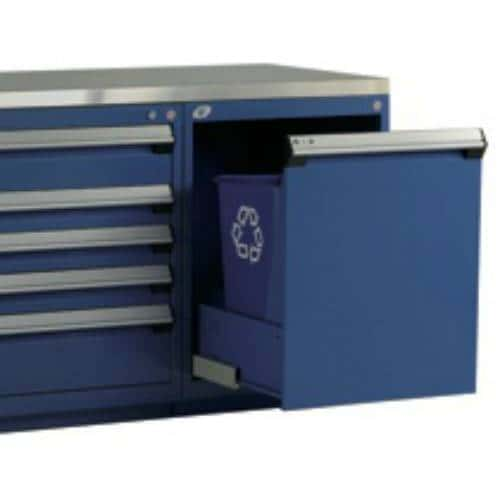 Drawer for Waste and Recycling