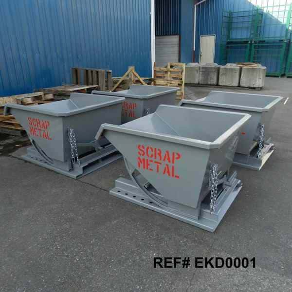 Custom Self Dumping Steel Hoppers