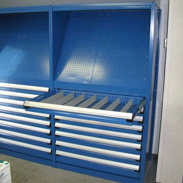 Modular Drawers in Shelving