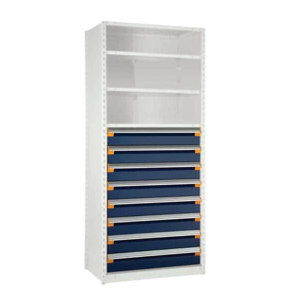 8 Drawers for Shelving 48H