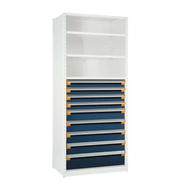 9 Drawers for Shelving 48H