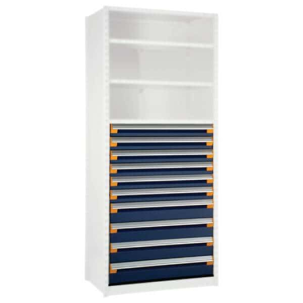 10 Drawers for Shelving 48H