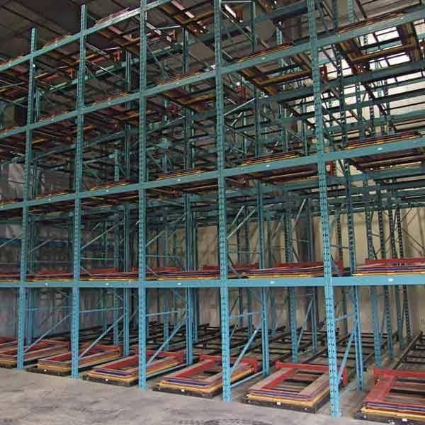 Push Back Pallet Racking - Commander Warehouse