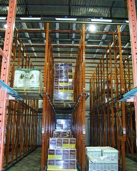 Drive In & Drive Thru Pallet Racking