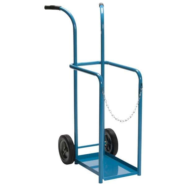 Medium Cylinder Hand Truck Front to Back