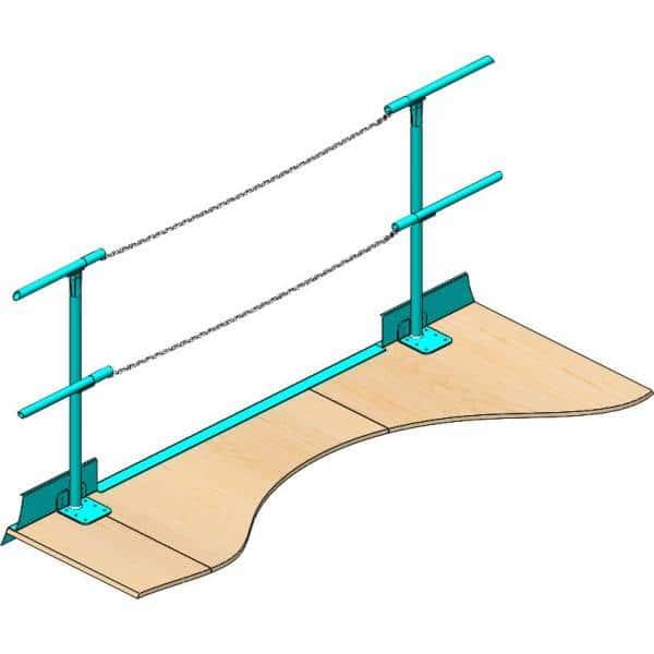 Handrail Chain Gate - Commander Warehouse