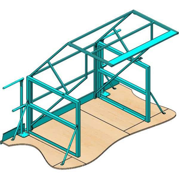 Pivot Safety Gates - Commander Warehouse
