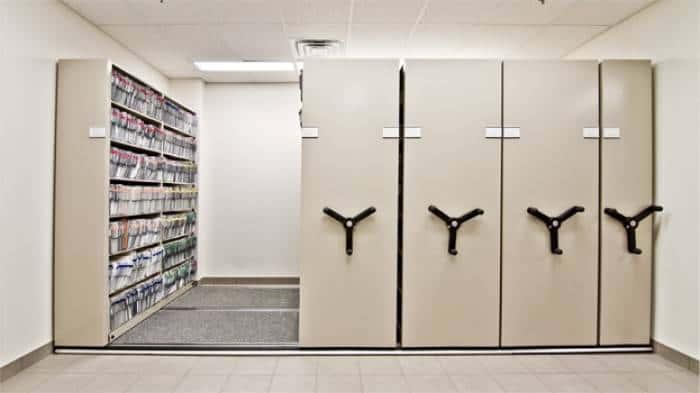 QuadraMobile Modular Flooring Storage