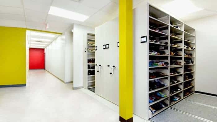 QuadraMobile Modular Flooring Storage