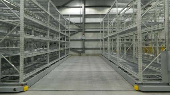 SAFERAK 60 Industrial Powered Racking