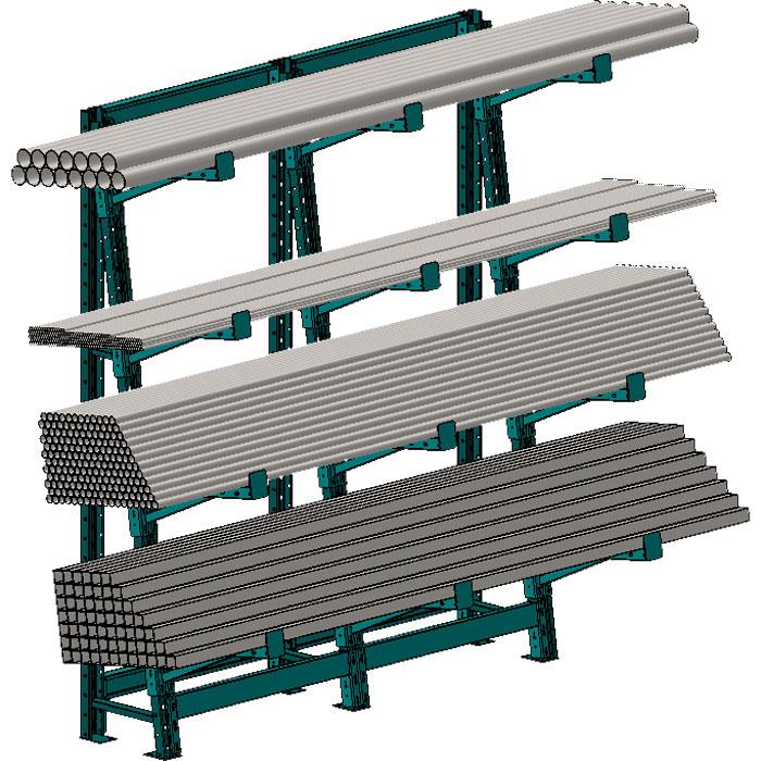 Barstock Rack