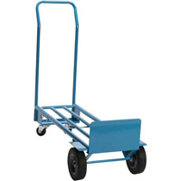 What is the difference between a hand truck and a dolly?