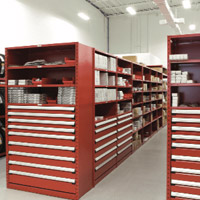 Storage solutions for automotive parts