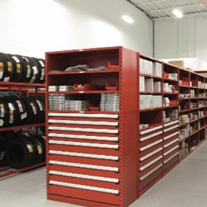 Automotive parts storage