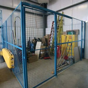 Security cage uses