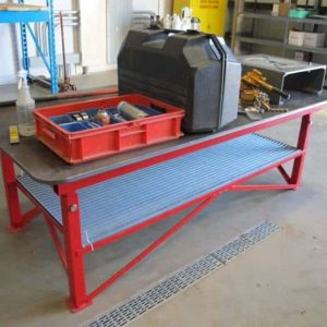 What is a welding table?
