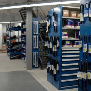 How to organize a parts department