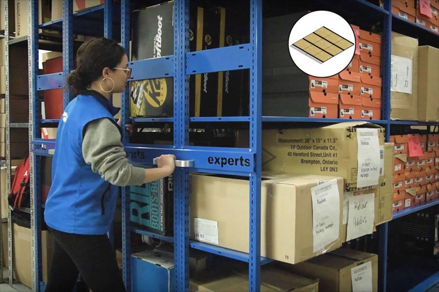 Manual Mobile Shelving - Commander Warehouse