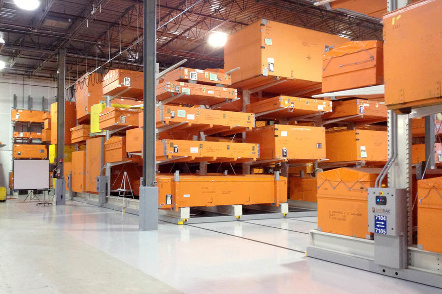 Mobile Racking Systems - Commander Warehouse
