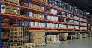 How to organize warehouse storage space