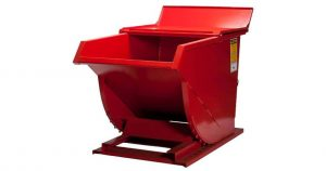 How to safely operate a self-dumping hopper