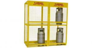 Propane storage cage requirements